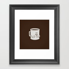 Mugged. Framed Art Print