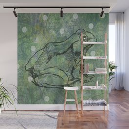 The Magical Frog Wall Mural
