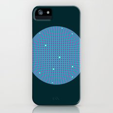 Sphere Blue Slim Case iPhone (5, 5s)