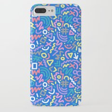 Bright Hand-Drawn 90s Pattern iPhone 7 Plus Slim Case