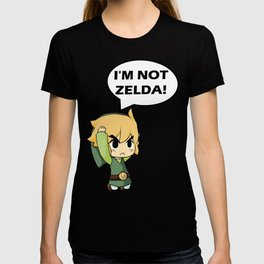 I'm not Zelda! (link from legend of zelda) T-shirt
