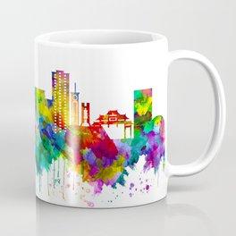 Davao City Philippines Skyline Coffee Mug
