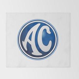 AC Cars Logo Throw Blanket