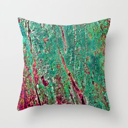 GREEN ARCHETYPAL POETRY Throw Pillow
