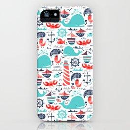 Ahoy Matey iPhone Case