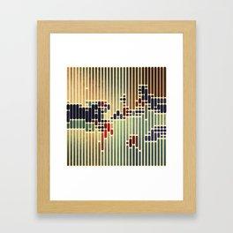 ColorCode Framed Art Print