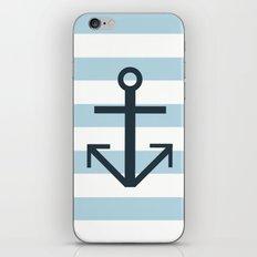 Nautical Stripes iPhone & iPod Skin