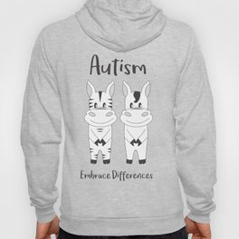 Autism Embrace Differences Hoody