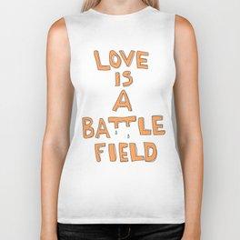 love ISA Battlefield Biker Tank