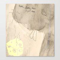 robert farkas Canvas Prints featuring Robert by Kay Weber