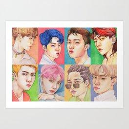 EXO KOKOBOP Art Print