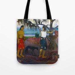 Under the Pandanus by Paul Gauguin Tote Bag