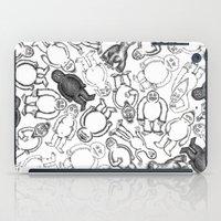 sticker iPad Cases featuring Goon Sticker Slap by Jon Hoeveler
