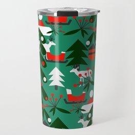 Christmas evergreens Travel Mug