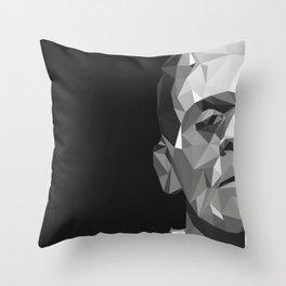 Frankenstein Poly Art Throw Pillow