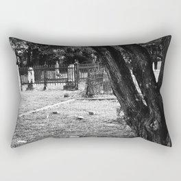 Old Country Graveyard Rectangular Pillow