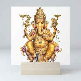 Ganesha - Hindu Mini Art Print