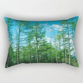 Summer Woods Rectangular Pillow