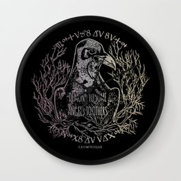 Demons and Angels Wall Clock
