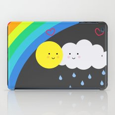the truth about rainbows iPad Case