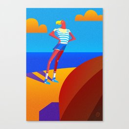 Summer Is Coming Canvas Print