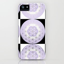 NAKED GEOMETRY no 1 iPhone Case