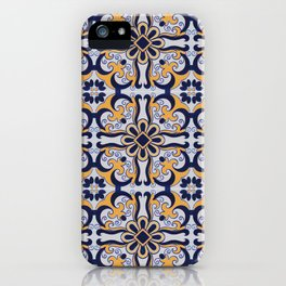 Portuguese tile iPhone Case