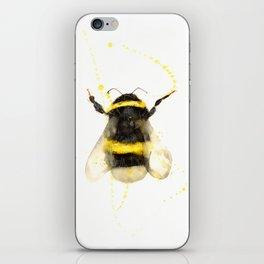 ORIGINAL WATECOLOR BUMBLE BEE iPhone Skin