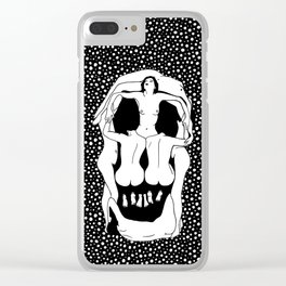 Salvador Dalí - Skull Clear iPhone Case