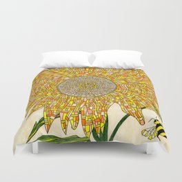 Georgia Sunflower Duvet Cover