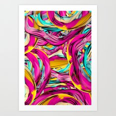 Blasé Art Print
