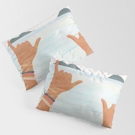 Shaka Sign Pillow Sham