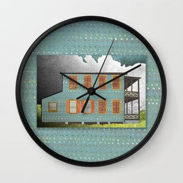 West Indies House Wall Clock