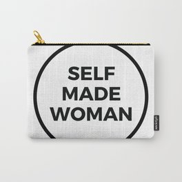 SELF MADE WOMAN Carry-All Pouch