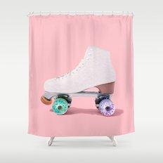 ROLLER DONUT Shower Curtain