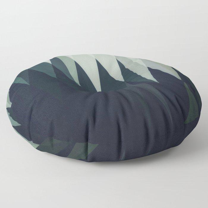 Diamond Forest Floor Pillow