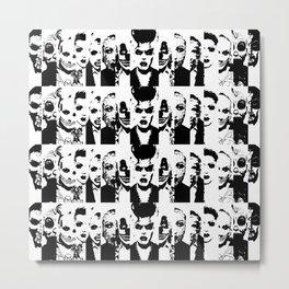 Narcissistic Collage  Metal Print