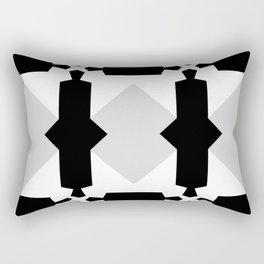 Classic Geometric Pattern Rectangular Pillow