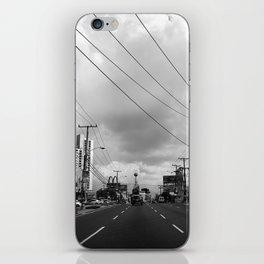 Driving in Panama City iPhone Skin