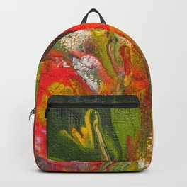 Gladiola Garden 1 Backpack