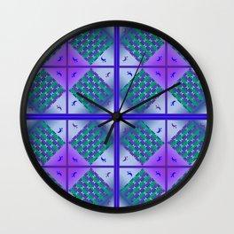 Moonlight Blue, Design pattern Wall Clock