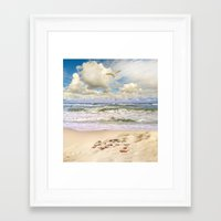 paradise Framed Art Prints featuring Paradise by RasaOm