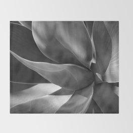 Agave Plant Throw Blanket