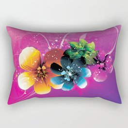 Floral Mystique Rectangular Pillow