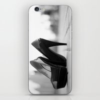 heels iPhone & iPod Skins featuring Heels by sarahscamera