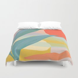 Shapes and Layers no.33 Duvet Cover