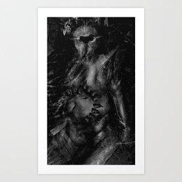 The Excretor Art Print