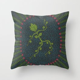 Cissos, Ivy Throw Pillow