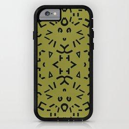 Alphabet iPhone Case