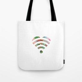 Love Wi-Fi  Tote Bag